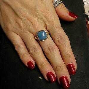 7.00ctw Genuine Blue Jade/925 Sterling Silver